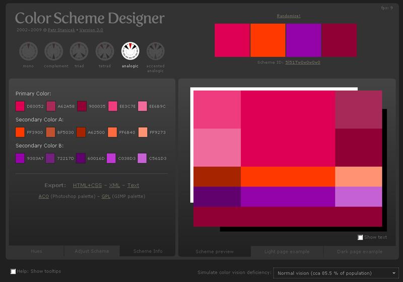 trouver les bonnes couleurs pour votre webdesign takaclike. Black Bedroom Furniture Sets. Home Design Ideas