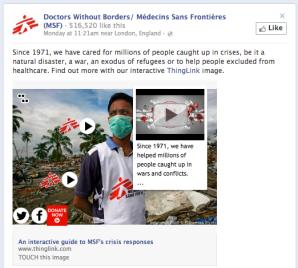 Les images interactives arrivent sur Facebook